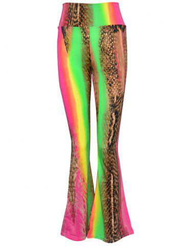 Latest High Waist Multicolor Printed Pants