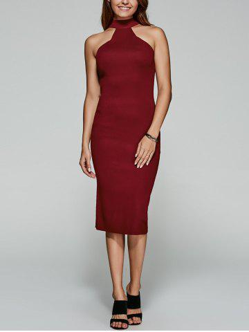 Outfits High Neck Bodycon Dress