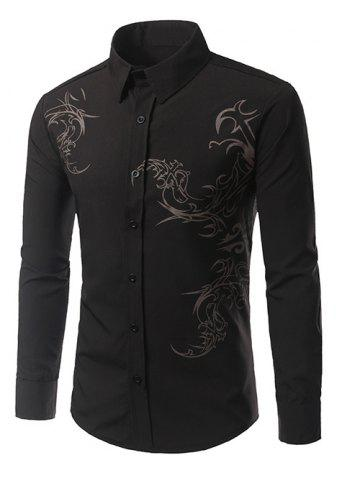 Best Tattoo Print Long Sleeve Shirt