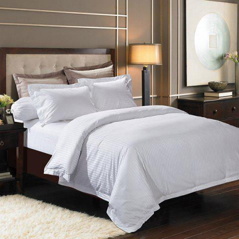 Shops High Quality Cotton Stripe Hotel 3PCS Bedding Set