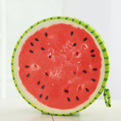 Soft Plush Watermelon Shape Back Buttock Cushion Pillow