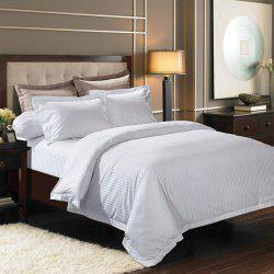 High Quality Cotton Stripe Hotel 3PCS Bedding Set -