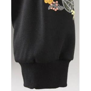 Relaxed Embroidered Sweatshirt -
