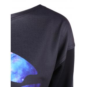 Skew Neck Lip Sweatshirt -