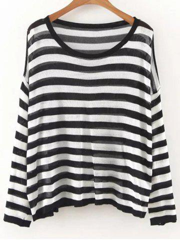 Best Striped Oversized Knit Jumper