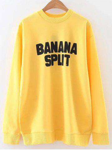 Store Oversized Banana Split Sweatshirt