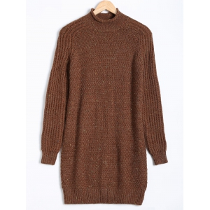 Paint Dot Ribbed Pullover Sweater