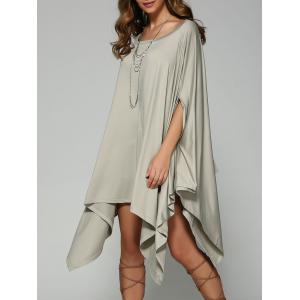 Oversized Handkerchief Tee Dress