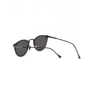 Cool Metal Cat Eye Mirrored Sunglasses -