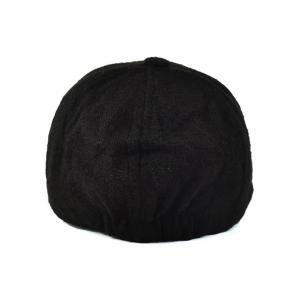 Fall Smile Face You Embroidery Knit Baseball Hat -