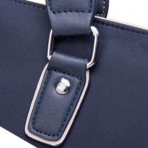 Fashion Solid Color and Nylon Design Briefcase For Men -