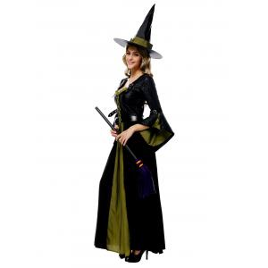 Maxi Witch Halloween Cosplay Dress -