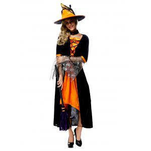 Halloween Witch Cosplay Costume -