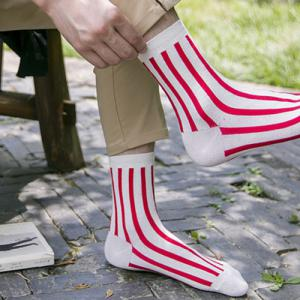 One Set Vertical Stripes Socks -