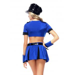 Policewoman Cosplay Halloween Outfits -
