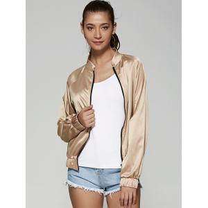 Only Queen Satin Bomber Jacket -