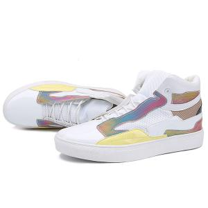 Color Block Mid Top Casual Shoes -