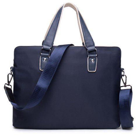 Online Fashion Solid Color and Nylon Design Briefcase For Men