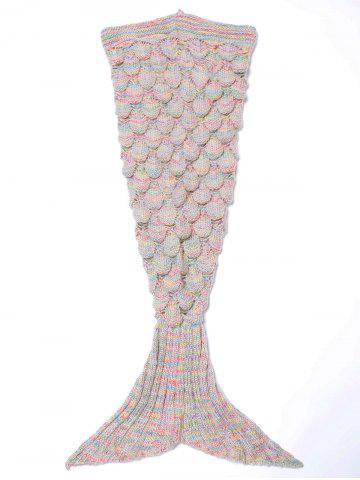 Buy Endearing Multicolored Mermaid Knitted Blankets and Throws