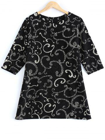 Outfits Plus Size Clouds Printed Blouse