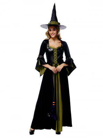 Fashion Maxi Witch Halloween Cosplay Dress
