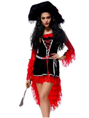 Hot Halloween Adult Pirate Cosplay Dress