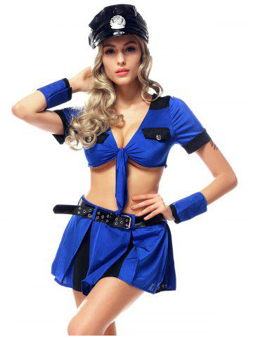 Outfit Policewoman Cosplay Halloween Outfits
