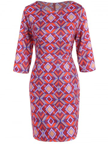 Affordable Jacquard Sheath Dress