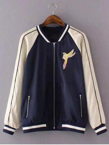 Outfits Embroidered Varsity Souvenir Jacket