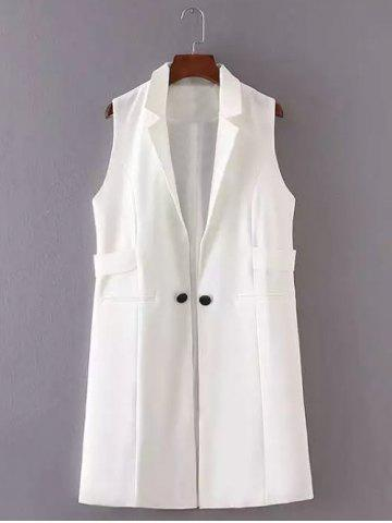 Latest Slimming Buttoned Design Long Waistcoat