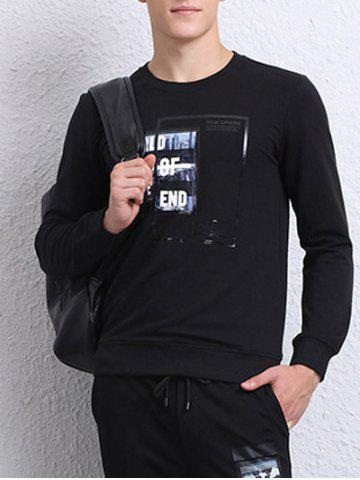 Chic Crew Neck World of The End Sweatshirt