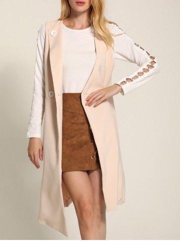 Best One Button Long Asymmetric Waistcoat