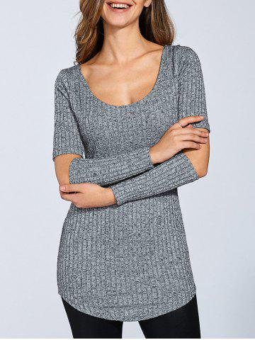 New Long Sleeve Cut Out Sweater