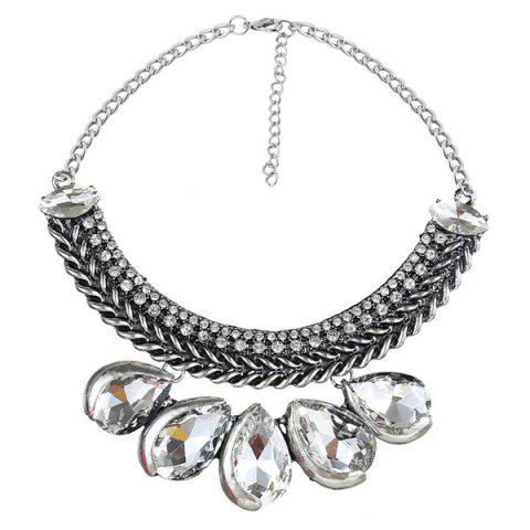 Best Knitted Teardrop Fake Collar Necklace