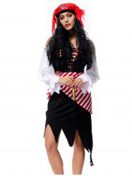 Halloween Pirate Cosplay Dress -
