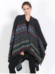 Streetwear Geometry Thicken Cape Pashmina