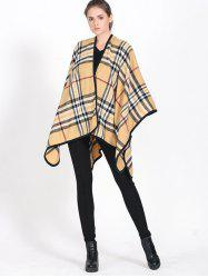 Britian Plaid Covered Edge Wrap Pashmina