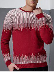 Linellae Design Crew Neck Long Sleeve Sweater