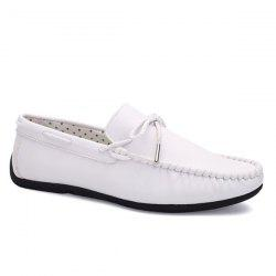PU Leather Slip-On Casual Shoes
