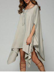 Oversized Handkerchief Dress