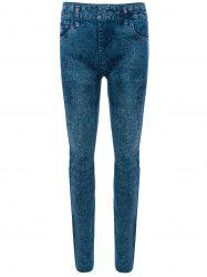 Skinny Jeggings Faux Jean Leggings -
