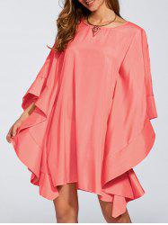 Dolman Casual Kimono Sleeve Short Dress