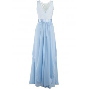 Chiffon Long Bridesmaid Wedding Formal Prom Maxi Dress