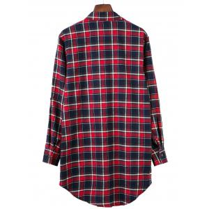 Long Sleeve Scottish Asymmetric Shirt -