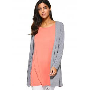 Back Slit Smock Blouse -