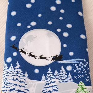 Funny Santa Claus Light Up and Singing Design Christmas Tie -
