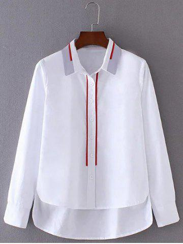 Outfit High Low Buttoned Shirt