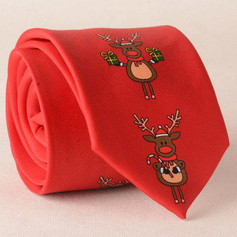 Unique Sleepover Carnival Funny Reindeers Christmas Tie