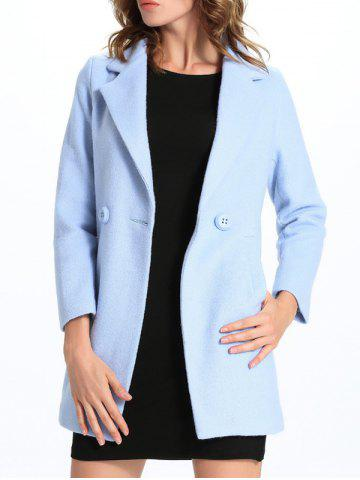 Hot Slim Fit One-Button Lapel Coat