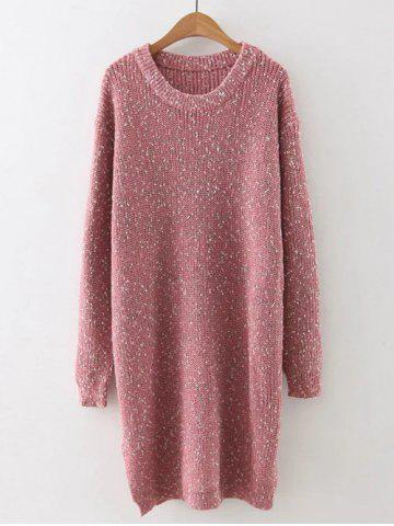 Sale Preppy Style Fitted Warm Long Sweater